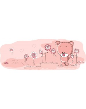 Pink macis gyerek bicikli matrica (4 db)