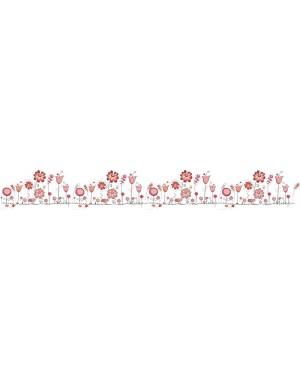Virágos gyerek kerékpár matrica (2 db)